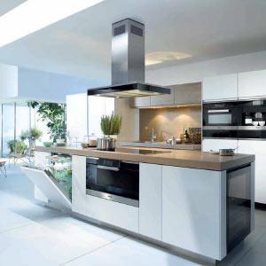 Italian and German modular kitchens, luxury Italian